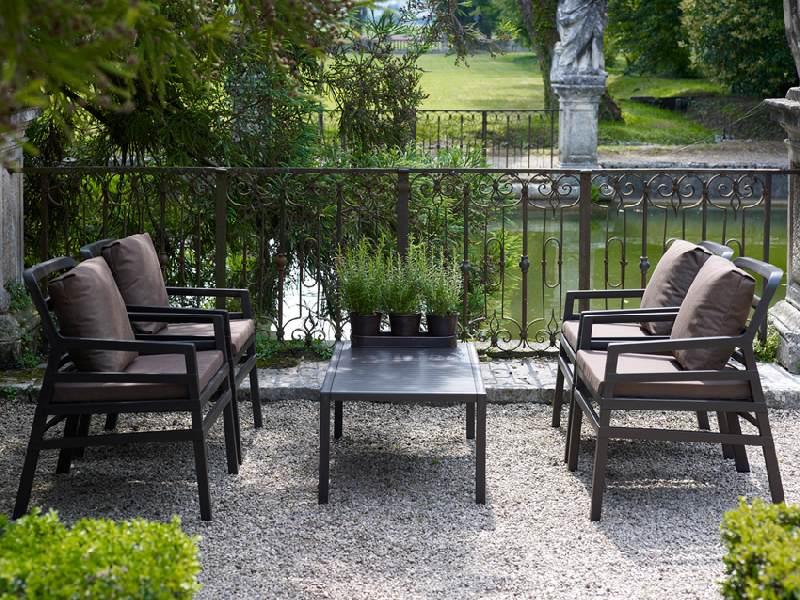 eredi bosca pesaro - arredo ville, giardini e terrazze - tavoli e sedie